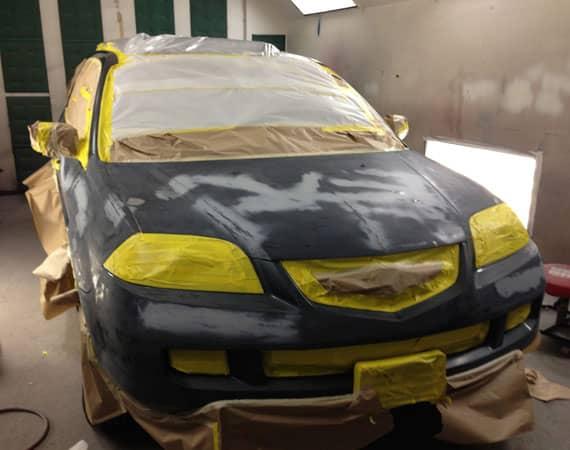 покраска авто своими рукам